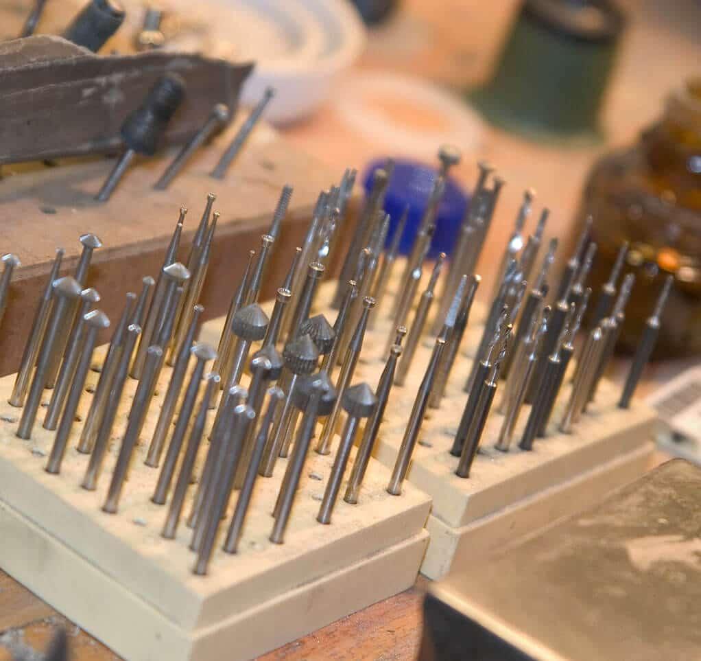 Juwelier Bungenstock Werkstatt Werkzeuge